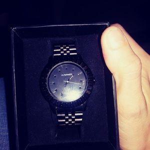 Mac cosmetics Black matte watch